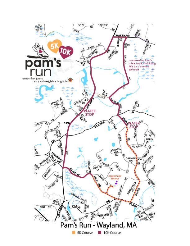 Pam's Run 10K